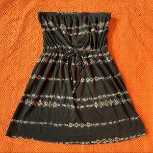 Boho Strapless Dress